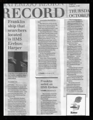 Lost Ships Franklin EXP 2nd Finding 9f9cb9e6-0cab-4918-9d14-de1f414100b1
