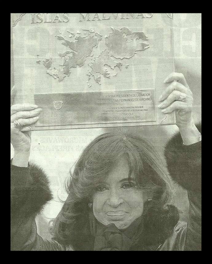 Another Falkland Island Editorial ArgentinePresidentChristinaKirchner-1-1