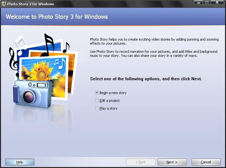 تحميل برنامج photo story 3 لعمل فيديو من الصور مع إضافة أغنية + الشرح 10
