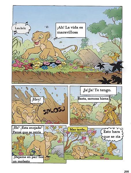Nuevo cómic: Amigos de nuevo  Hoja1-1