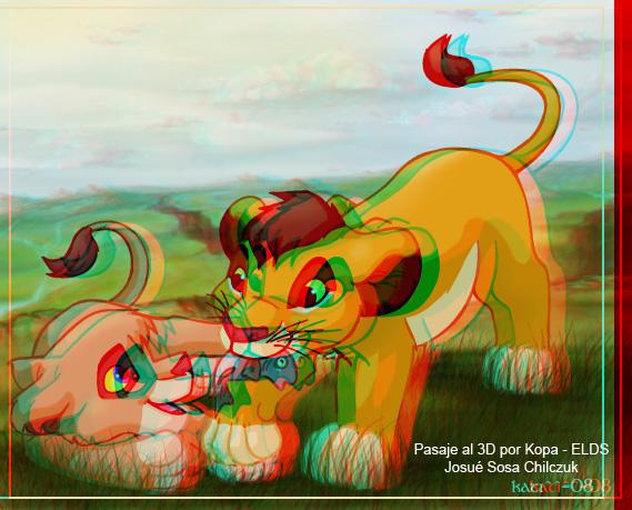 Imágenes pasadas a 3D de TLK Kopa-Vitani