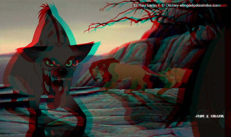 Imágenes pasadas a 3D de TLK - Página 2 Hiena3D