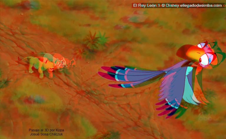 Imágenes pasadas a 3D de TLK Zazu-simbanala
