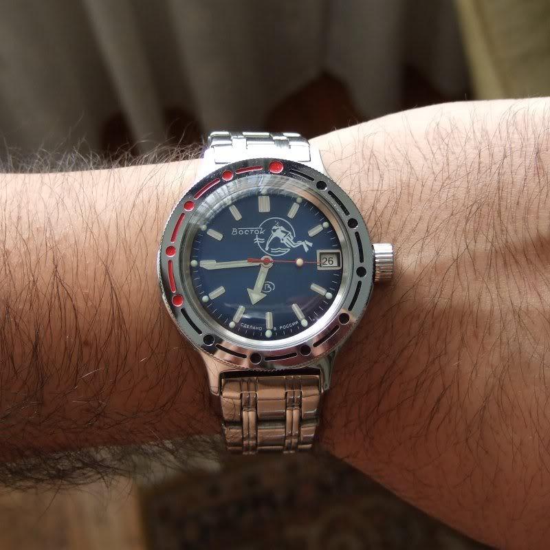 Je porte aussi une montre lorsqu'il n'est pas Vendredi !!! - Page 2 VostokSub