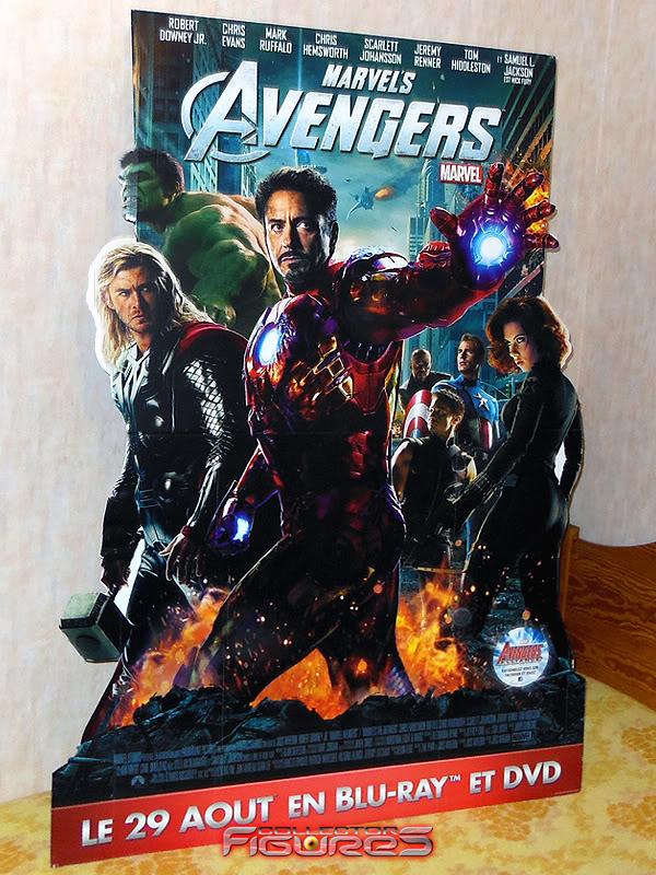 Vos PLV (Publicité sur Lieu de Vente) Toys, Films, Jeux, etc - Page 7 PLV-Avengers