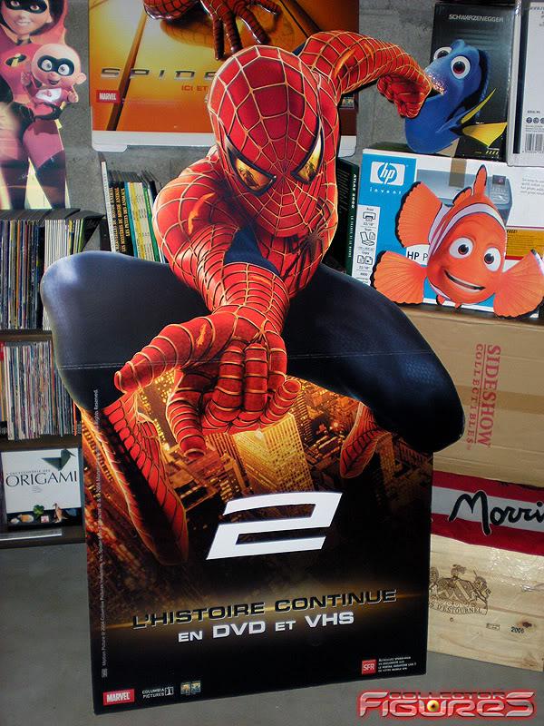 Vos PLV (Publicité sur Lieu de Vente) Toys, Films, Jeux, etc - Page 2 PLV-SPIDERMAN-2