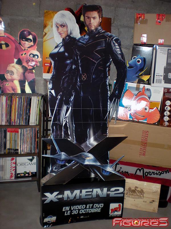 Vos PLV (Publicité sur Lieu de Vente) Toys, Films, Jeux, etc - Page 2 PLV-X-MEN-2