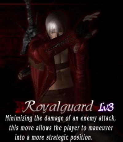 hướng dẫn hoàn chỉnh Devil May Cry 3:special edition Royalguard