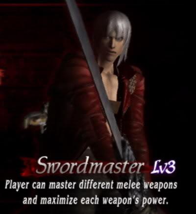 hướng dẫn hoàn chỉnh Devil May Cry 3:special edition Swordmaster
