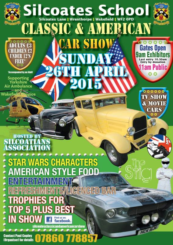 Silcoates Classic and American Car Show Photo-6