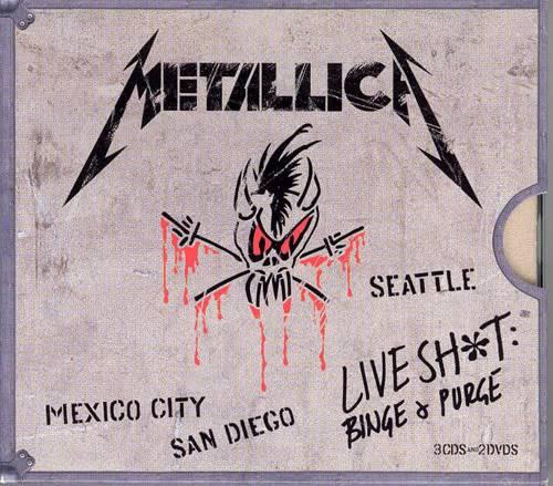 Metallica - Discografia 1983 - 2008 (19 Albums - 23 CDs) Live_Shit_Binge_And_Purge