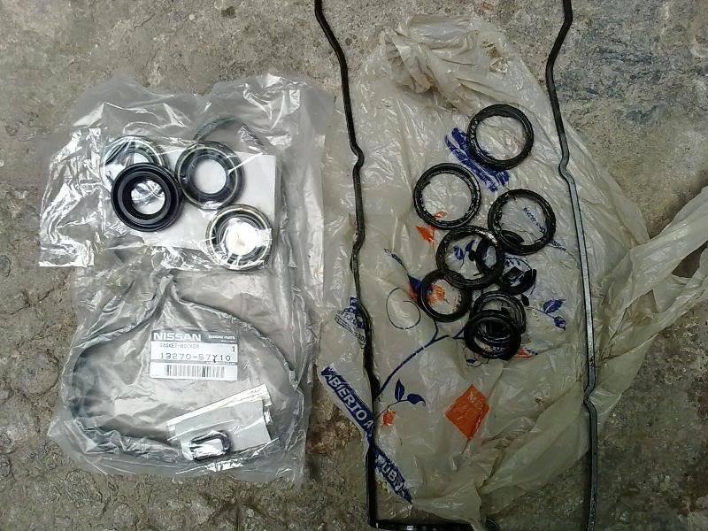 Cambio de Gasket Rocker y O-rings 02102010343