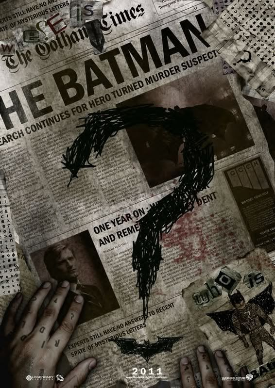 Batman 3 Poster??? Riddlerbatman