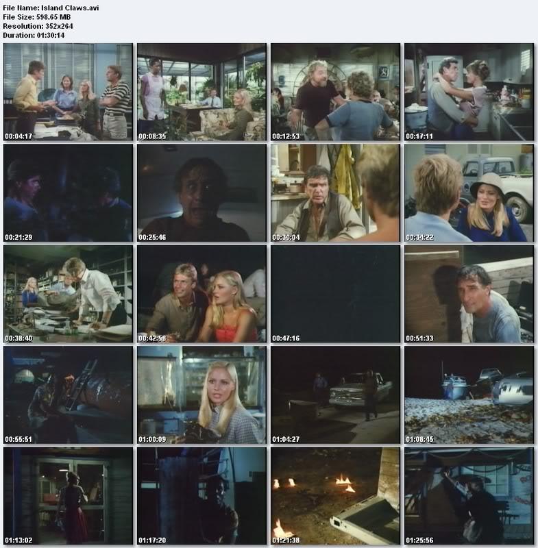 فيلم الرعب الامريكي النادر Download , Island Claws 1980 Islandscreen