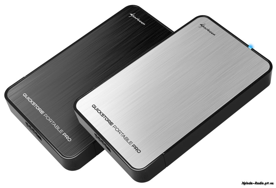 Sharkoon Intros QuickStore Portable Pro 2.5-inch SATA Drive EnclosureSharkoon Intros QuickStore Portable Pro 2.5-inch SATA Drive Enclosure 102a-1