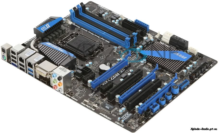 MSI Z68A-GD80 (B3) Motherboard 135c