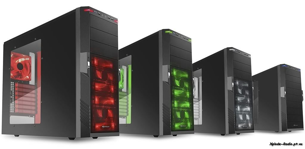 Sharkoon Introduces New T-Series PC Cases 141a