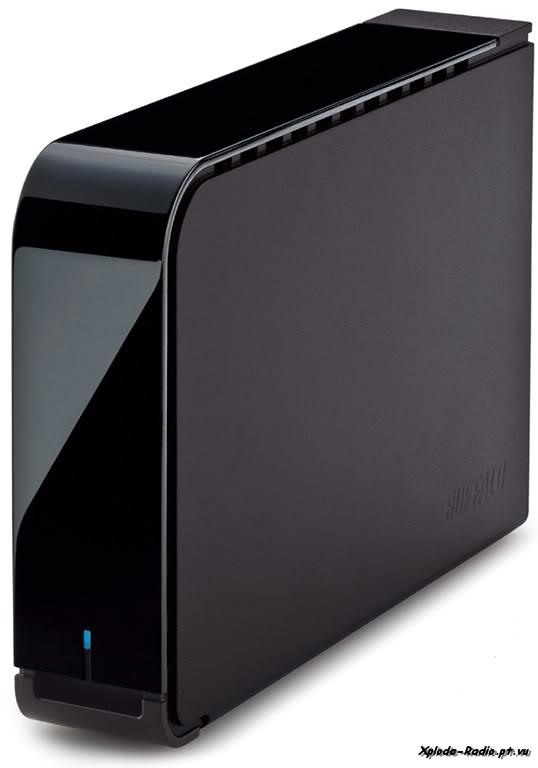 Buffalo Unveils Sleek Piano-Black MiniStation and DriveStation 144e