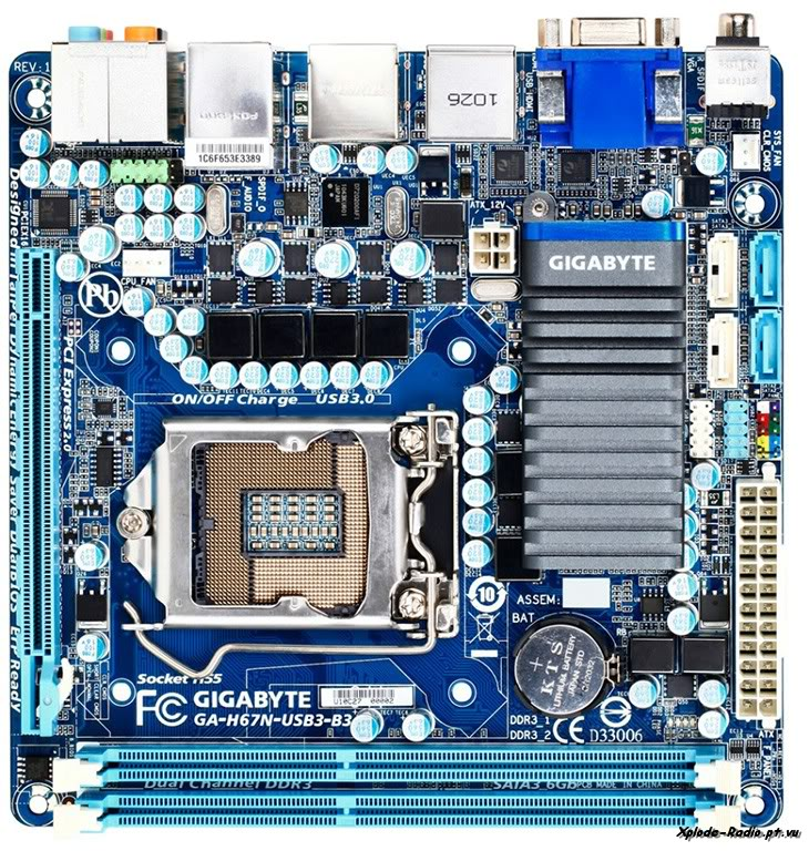 Gigabyte Intros New Mini-ITX LGA1155 Motherboard with Dual HDMI Output  155a