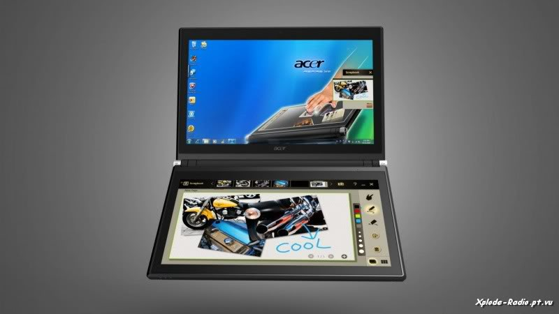 Acer Announces Iconia Touchbook Dual-Screen Tablet 188c