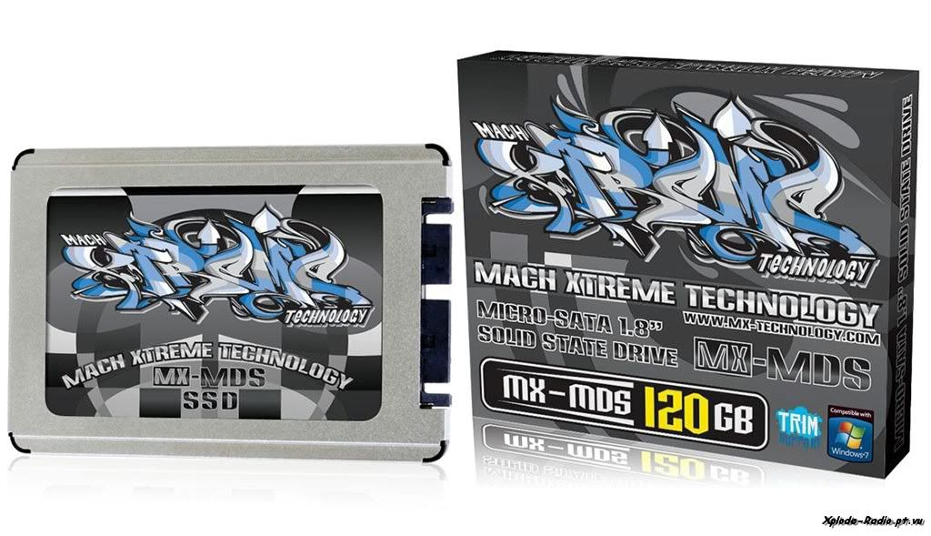 Mach Xtreme Technology Unveils 1.8'' micro-SATA MX-MDS Series Solid State Drives 204a