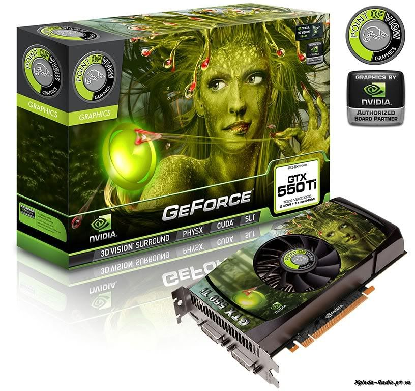 Point of View Launches its GeForce GTX 550 Ti Graphics Card 95b-1