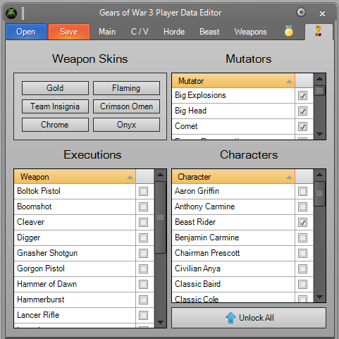 GoW3 Editor S-1
