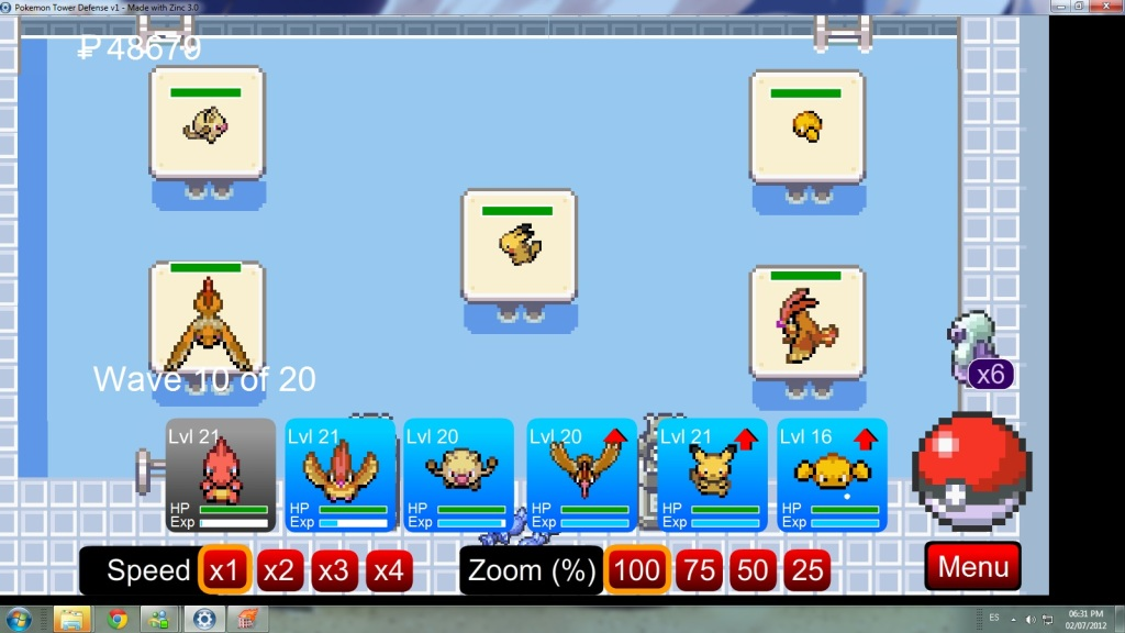 Pokemon Tower Defense *o* Sinttulo