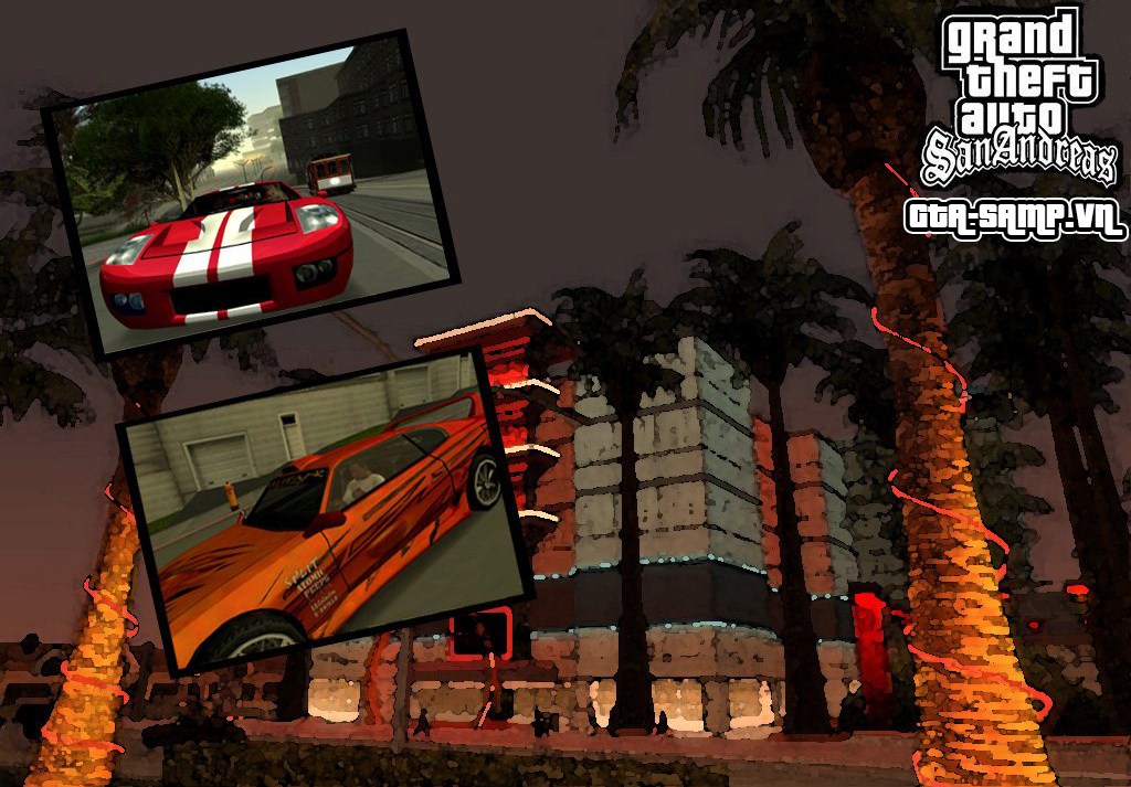 GAME nhập vai - Gta San Andreas phiên bản multiplayer. 1