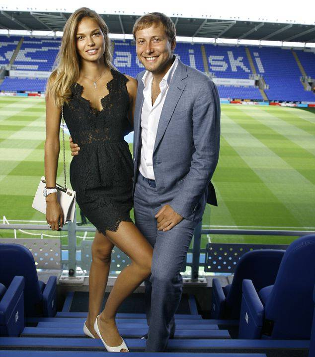 Katsia, the Reading FC president's wife! AntonandKatsiaZingarevich