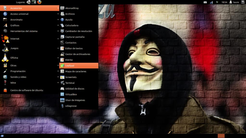 LinuxGaliza Precise Instantnea1
