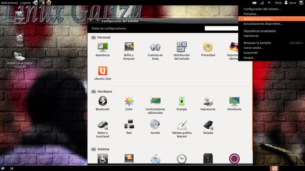 LinuxGaliza Precise Instantnea12