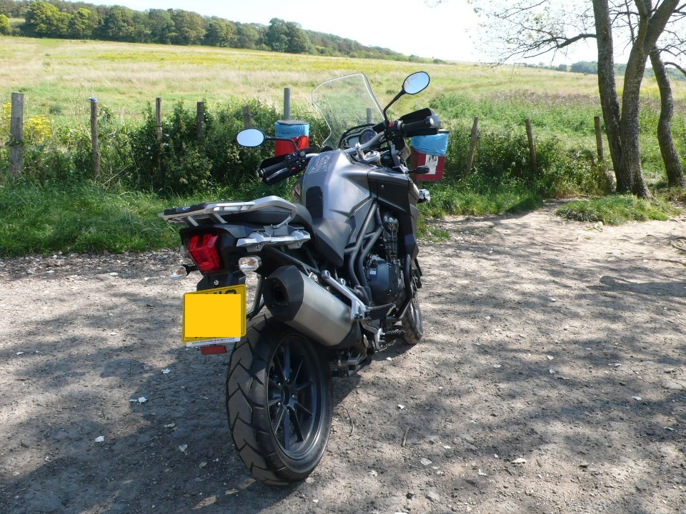 Bought a triumph Tiger4