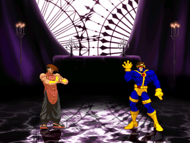 Yang, Cyclops, Haggar, & Ortega by Buckus updated 12/19/10 Mugen001-24