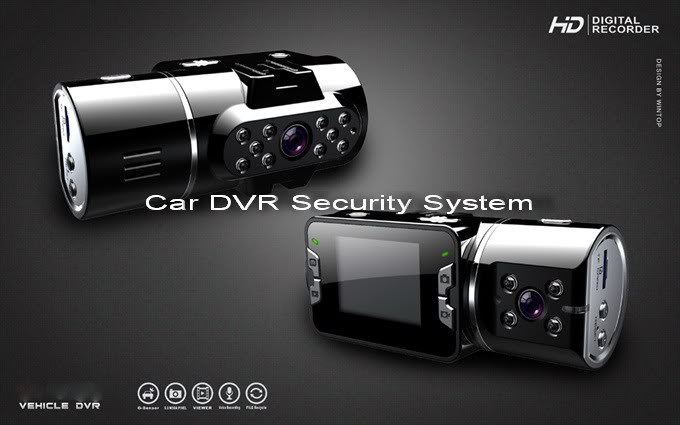 Car DVR Security System 222