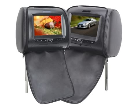 """HR900 Head Rest 7"""" with Slot in DVD Player Cd8c58294c272a5d6f67a61d7895f238"""
