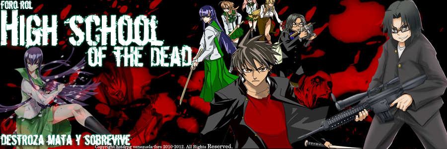 High School Of The Dead RPG