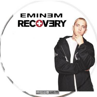 """Eminem """"Recovery"""" (2010) Eminem-Recovery-Cd-Cover-41697"""
