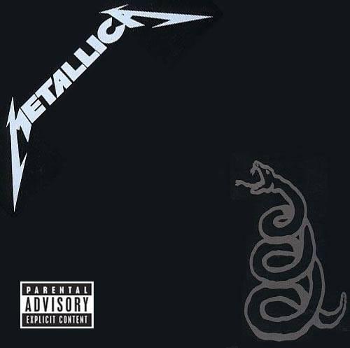 Metallica - BlackAlbum (1991) Front