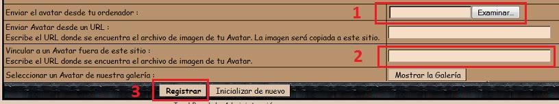 Como poner un avatar. Avatar2