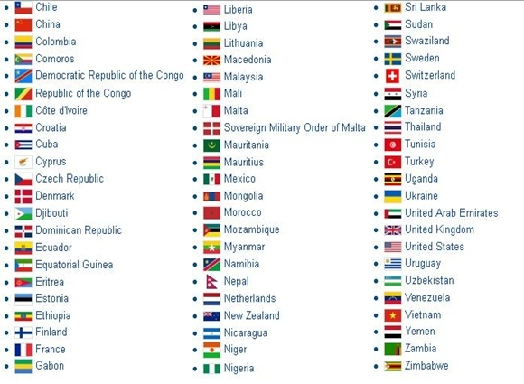 List of diplomatic missions in Egypt Emb1