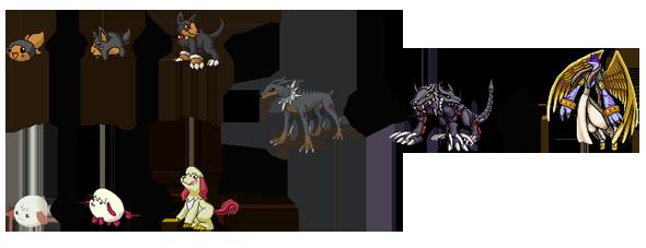 Líneas Evolutivas Dobmon1