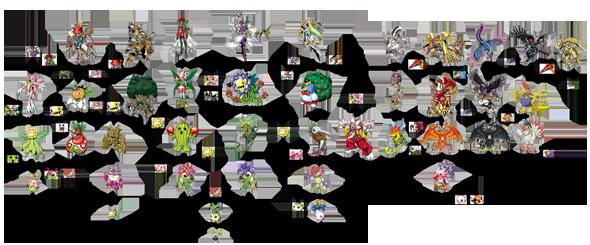 Líneas Evolutivas Nyokimon1