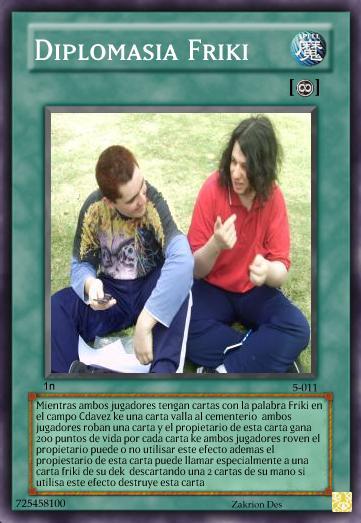 Delta Cards DiplomasiaFriki