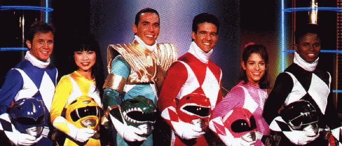 Power Rangers  Original-group