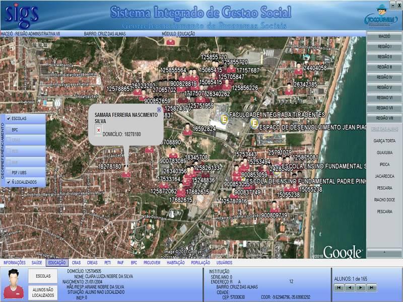 Sistema Integrado de Gestão Social - SIGS .::. Fotos Tela-sigs2