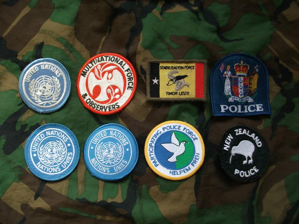 Kiwi Peace Keeping Items DSCF2720