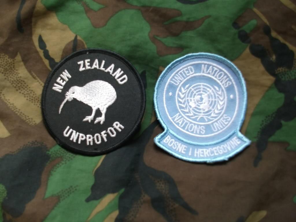 Kiwi Peace Keeping Items DSCF2724