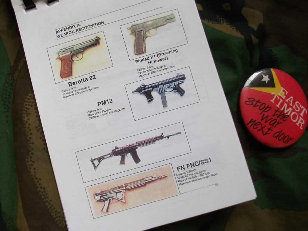 Kiwi Peace Keeping Items DSCF2730