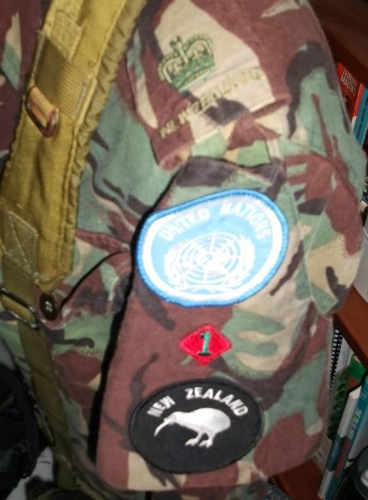 Kiwi Peace Keeping Items Timormajorinsignia